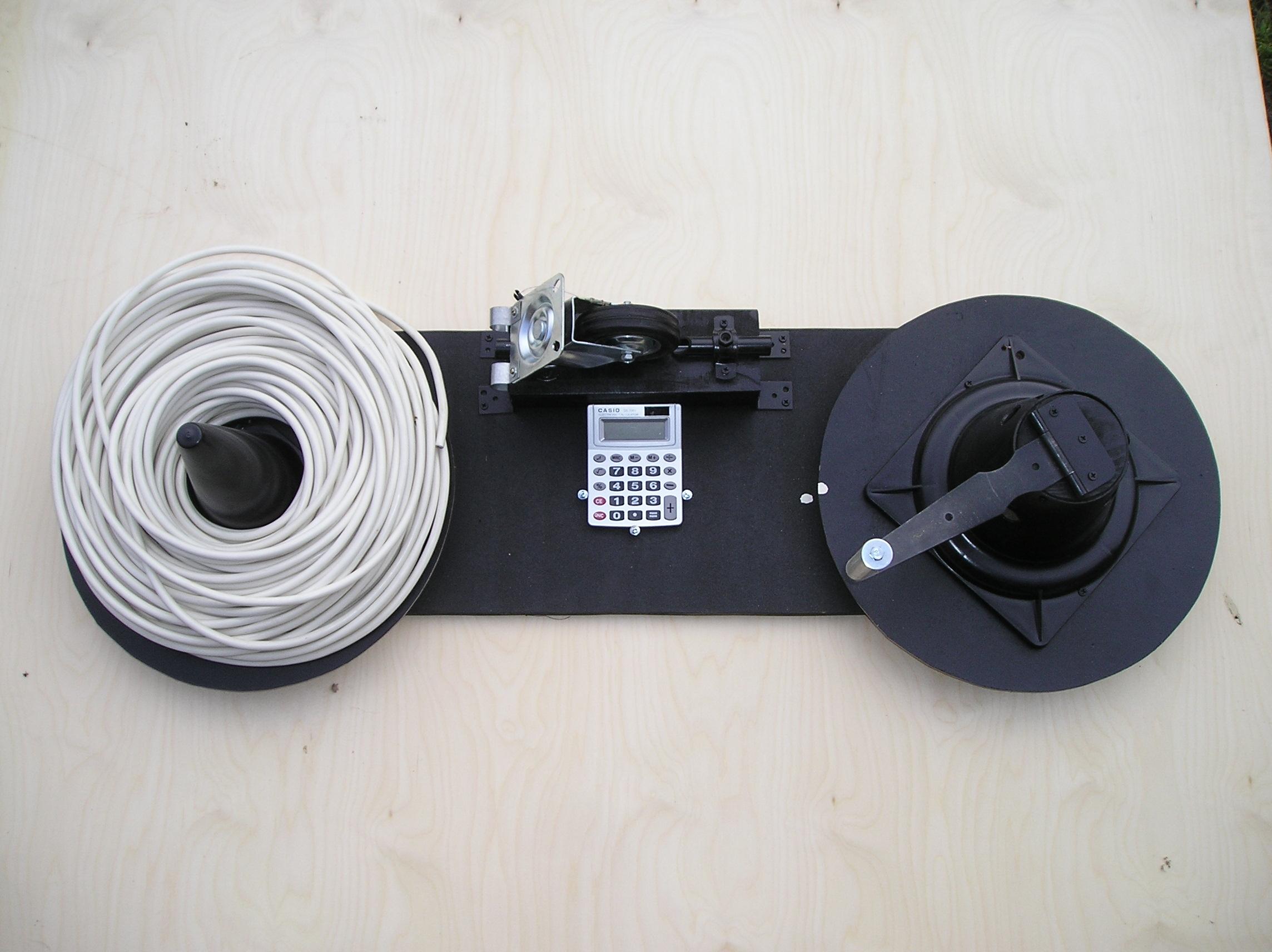 Самодельная катушка для размотки кабеля - Полезные самоделки 30